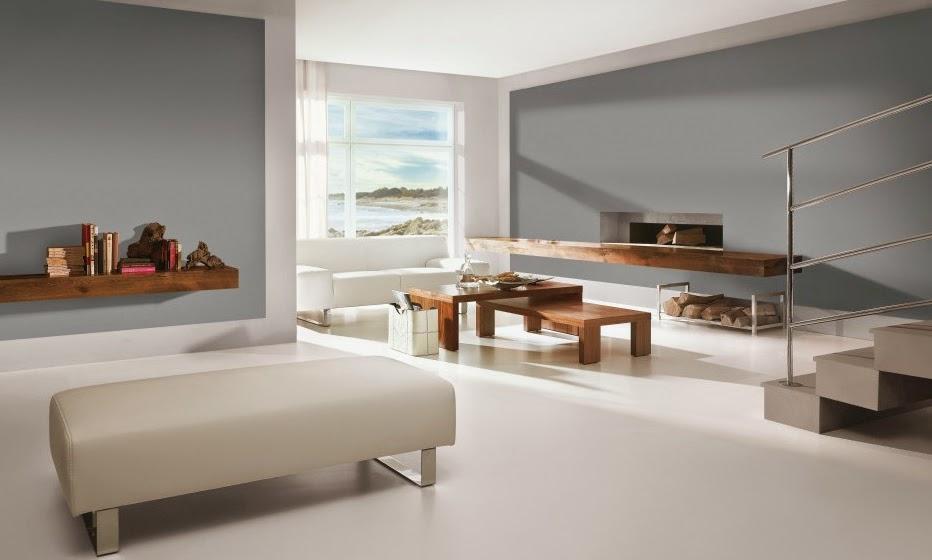 10 ideas de decoraci n para salas en gris for Pinturas para salones 2016