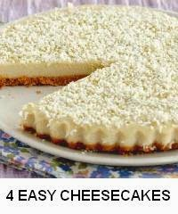 4 Easy Cheesecakes