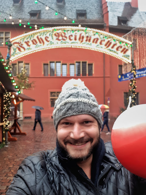 The Social Traveler at the Freiburg Christmas market