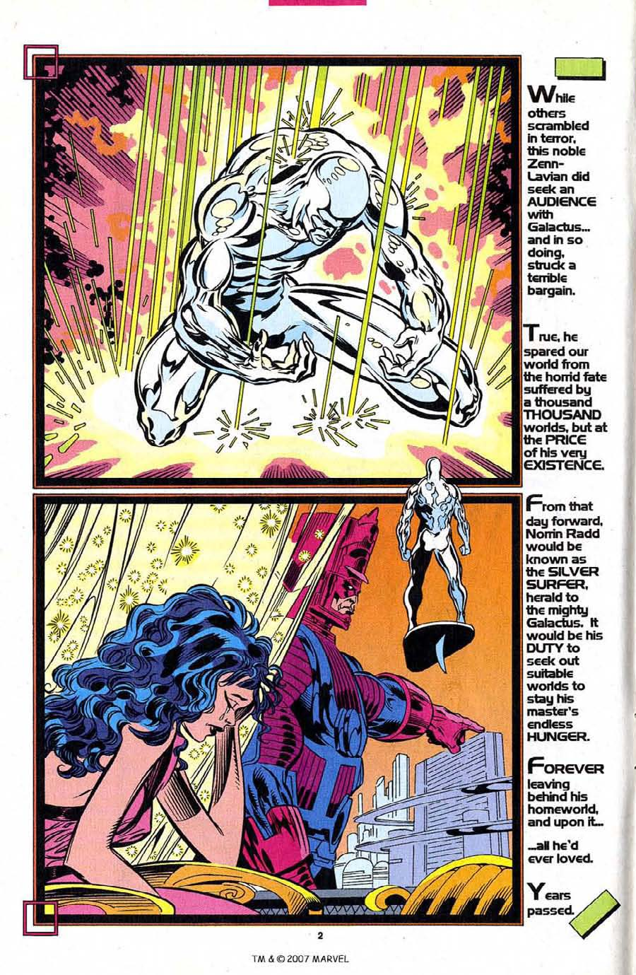Silver Surfer (1987) Issue #101 #109 - English 4