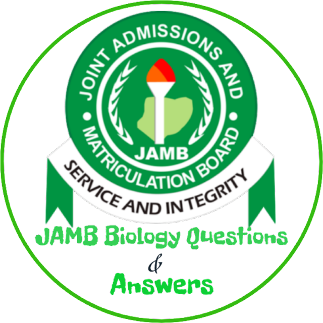 JAMB Biology Questions 2018