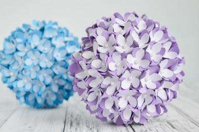 Quả cầu kết hoa cẩm tú cầu