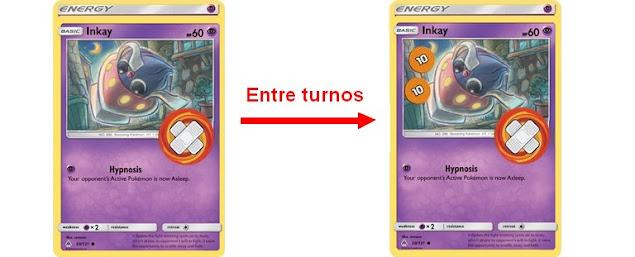 Entre turnos Pokémon TCG