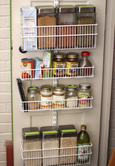 College Dorm Space Savers: Over-the-Door Shelving for the Pantry