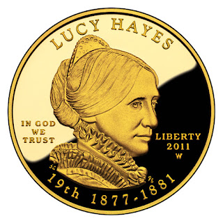 US Gold Coins Lucy Hayes 10 Dollars First Spouse Gold Coin