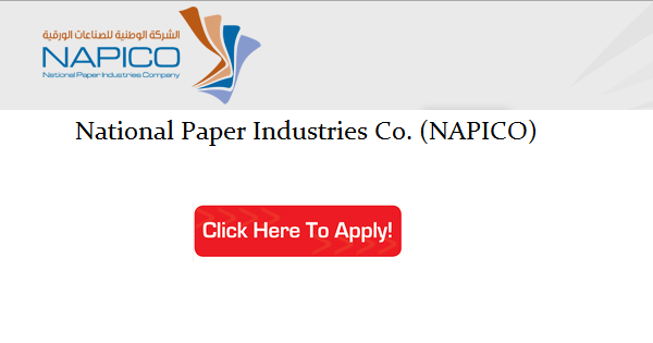Jobs at National Paper Industries Co  (NAPICO) Qatar
