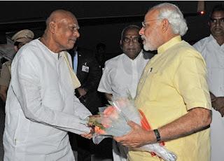 For whose Marriage did Rosaiah invite Modi?