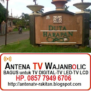 Jual ANTENA TV WAJANBOLIC Duta Harapan/Telaga Mas Bekasi