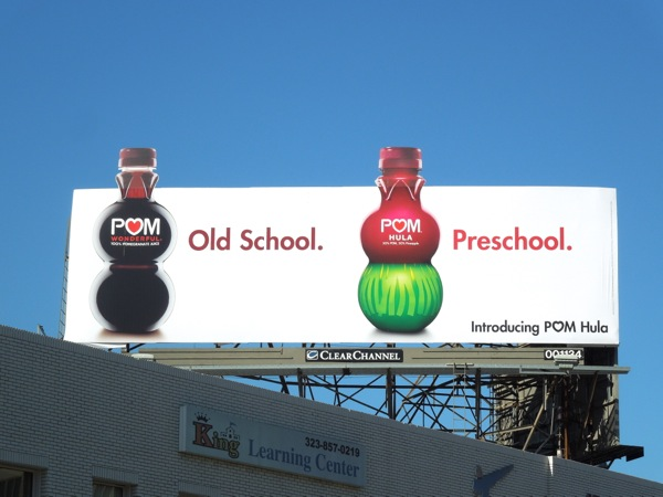 Pom Hula Preschool billboard