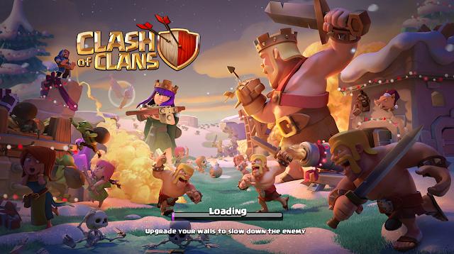 Kembali Main Clash of Clans Diakhir tahun 2017 Kedatangan Tamu Pasukan Clash Royale