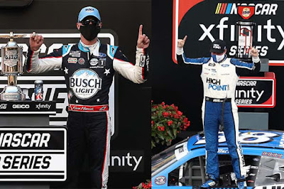 Ford & Stewart-Haas Racing Sweep Indy #nascar