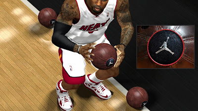 NBA 2K14 Jordan Leather Ball