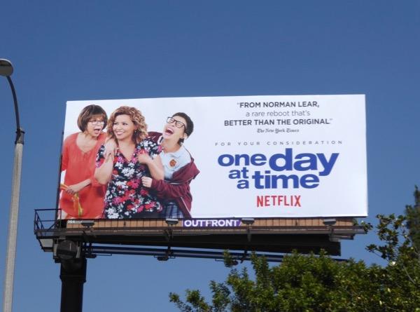 One Day at a Time season 1 Emmy FYC billboard
