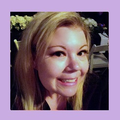 Sarah Purple Patch DIY