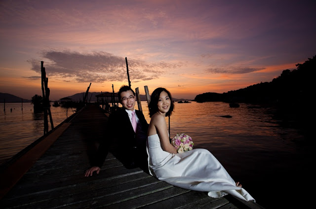 sunrise pangkor pre-wedding