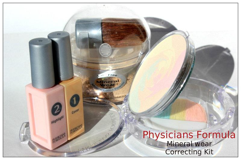 Отзыв: Минеральный набор для коррекции Physician's Formula, Inc. Шаг 1 и 2 – консилер/хайлайтер и корректирующая пудра.