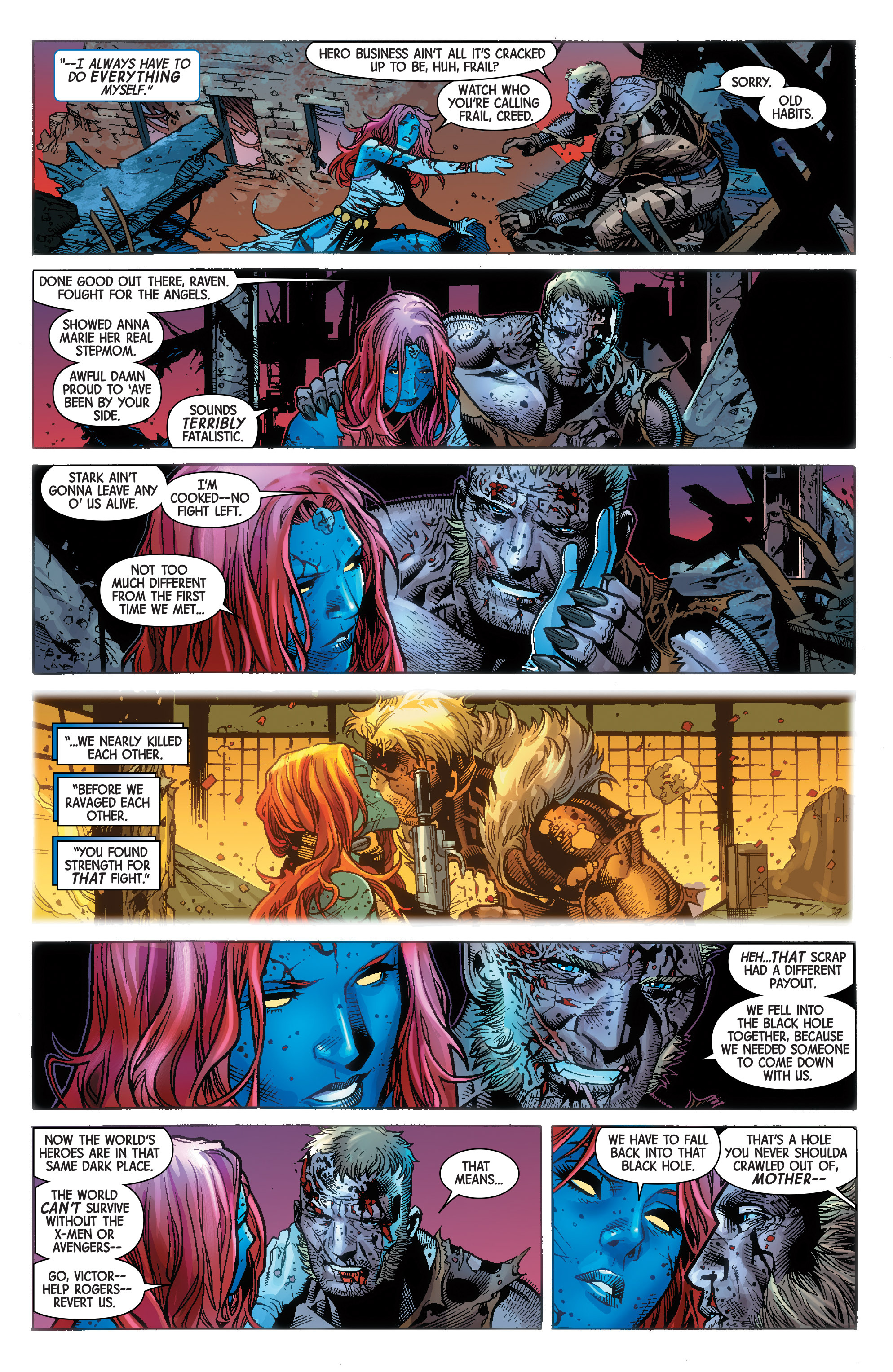 Read online Avengers & X-Men: AXIS comic -  Issue #9 - 10