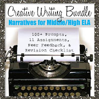 Creative Writing Bundle: Narratives for Middle School and High School ELA