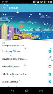 BBM Mod Themes BLUE v2.12.0.11 Apk Clone | Not Clone