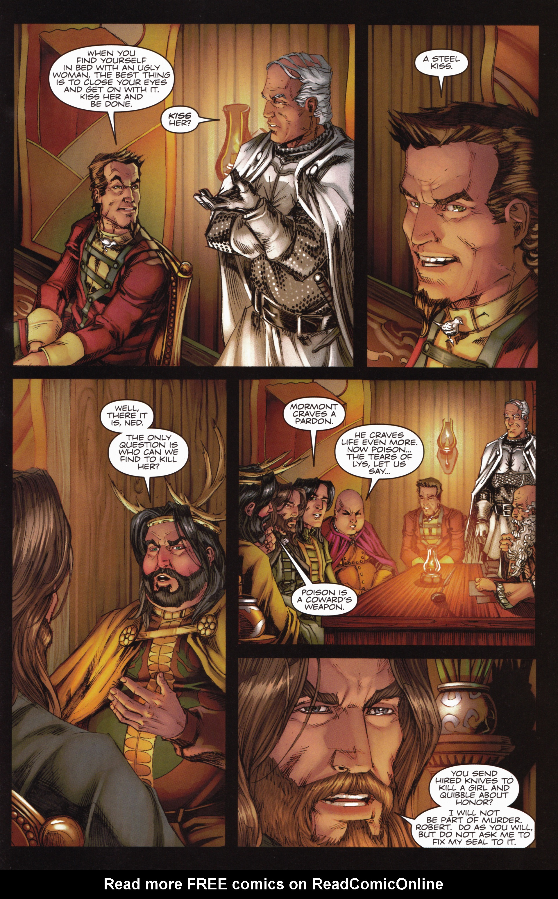 Read online A Game Of Thrones comic -  Issue #10 - 27