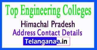 Top Engineering Colleges in Himachal Pradesh