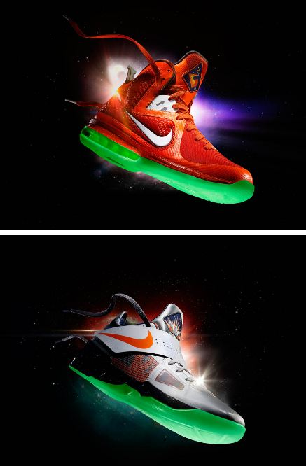 new arrivals ed53e 115f0 best price the sneaker addict nike lebron 9kd kobe 7 galaxy allstar sneaker  official images e64ac