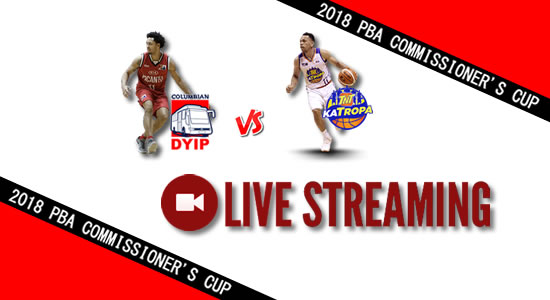Livestream List: Columbian vs TNT June 1, 2018 PBA Commissioner's Cup