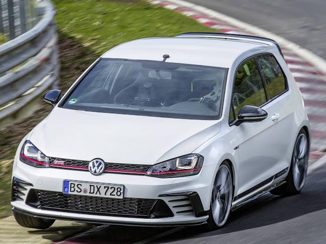 Volkswagen Golf GTi Clubsport S quebra recorde de Nürburgring