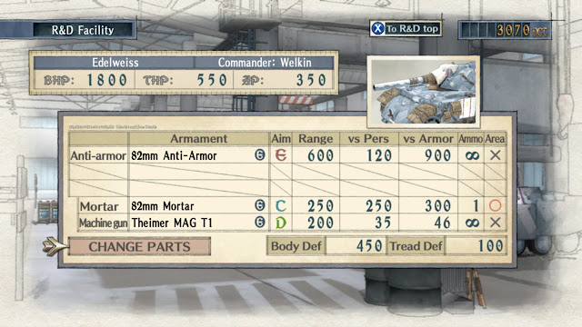 Valkyria Chronicles R&D Facility Edelweiss