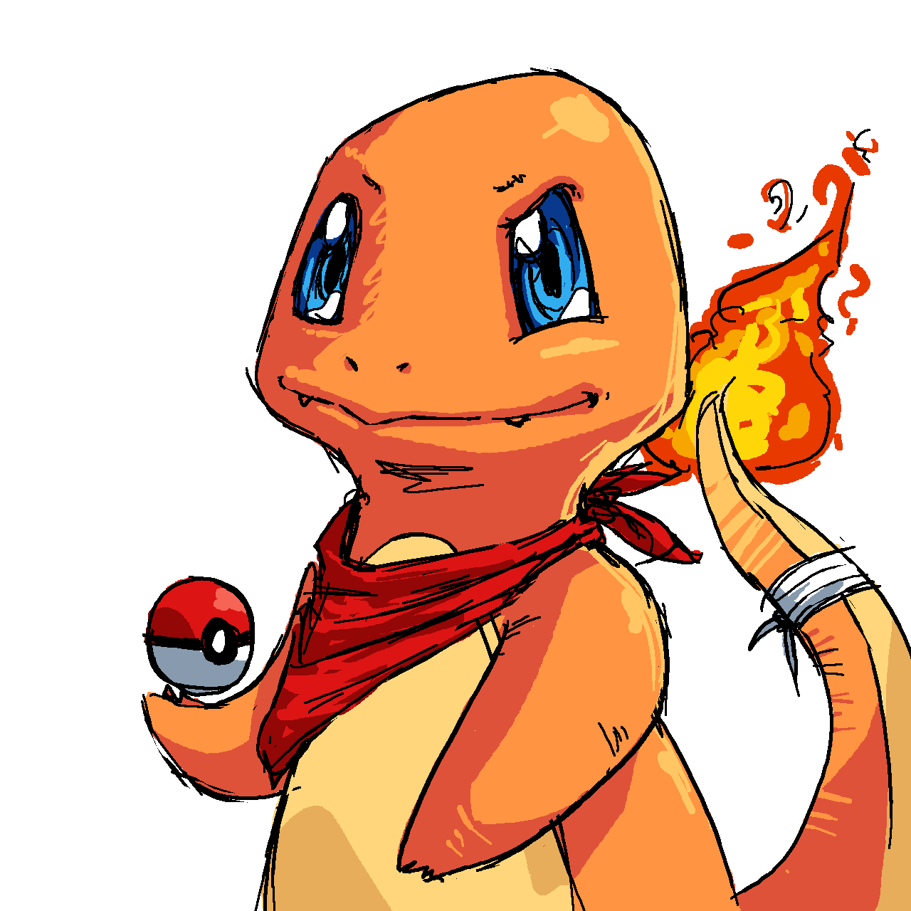 Charmander my pokemon bro