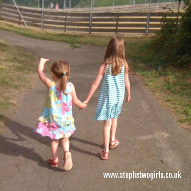 stephstwogirls 2011 holding hands