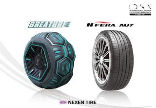 Dos neumáticos de Nexen Tire, galardonados en unos de los más prestigios premios de diseño del mundo
