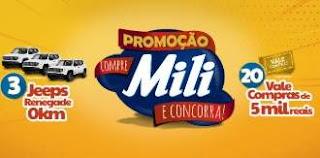 Cadastrar Promoção Mili Produtos Compre Concorra - Participar, Prêmios