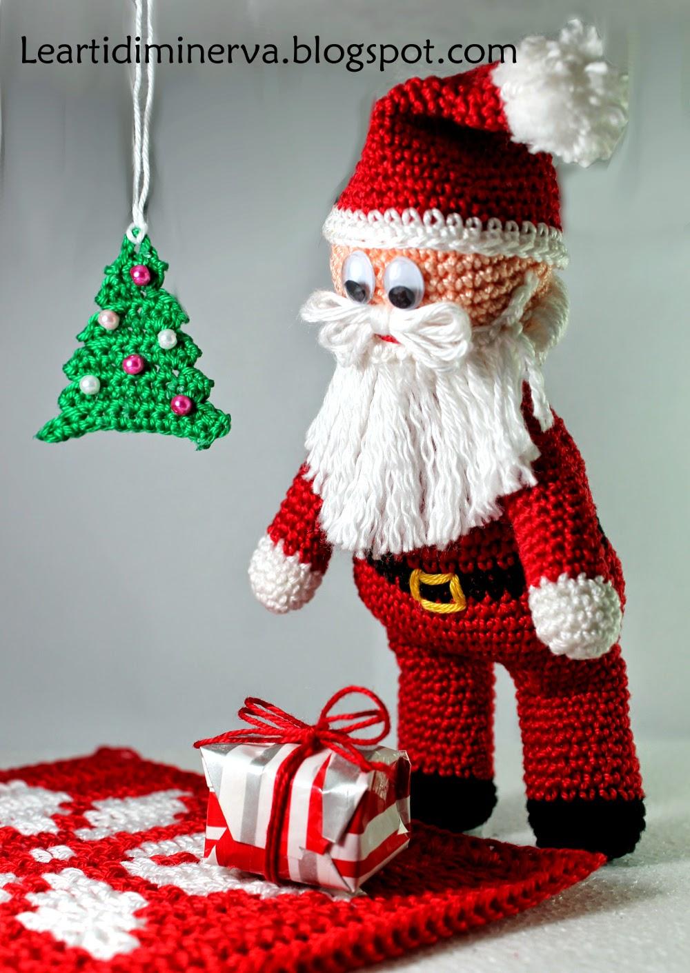 Segnaposto Natalizi Alluncinetto.Maryj Handmade Albero Di Natale All Uncinetto Crochet Christmas Tree
