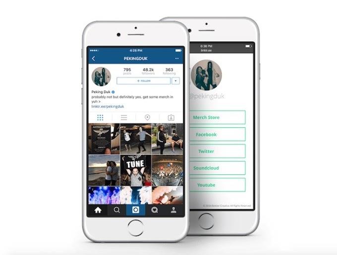 Linktree, para añadir múltiples enlaces a tu biografía de Instagram