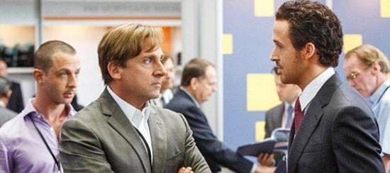 Steve Carrell- Ryan Gosling -The Big Short 2015