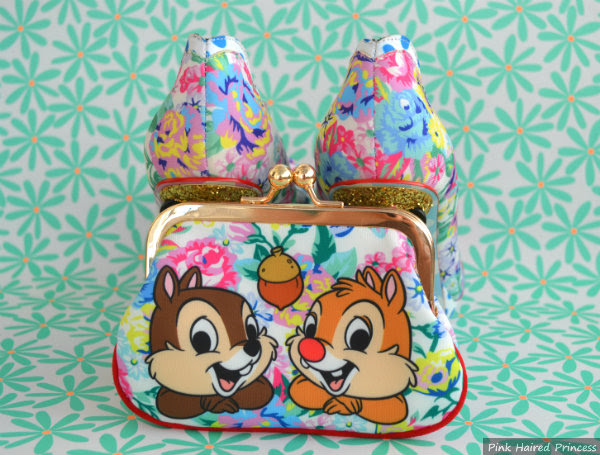 disney chip n dale purse and sherbet ice cream heels