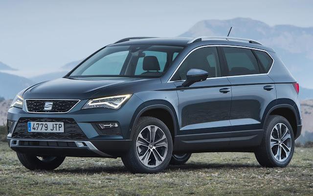 5,8 bilhões de euros, a receita de vendas da marca SEAT foi 14,5% maior que no mesmo período do ano anterior.