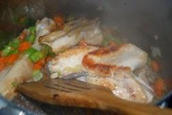 Agregar el pollo
