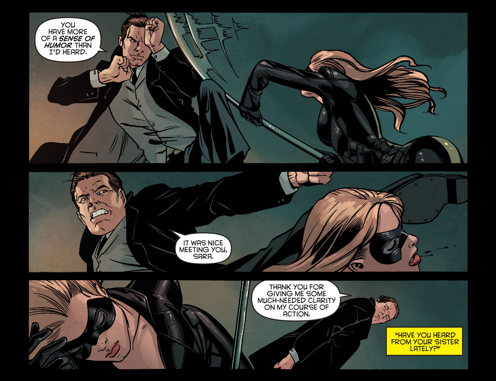 Read online Arrow: Season 2.5 [I] comic -  Issue #24 - 4