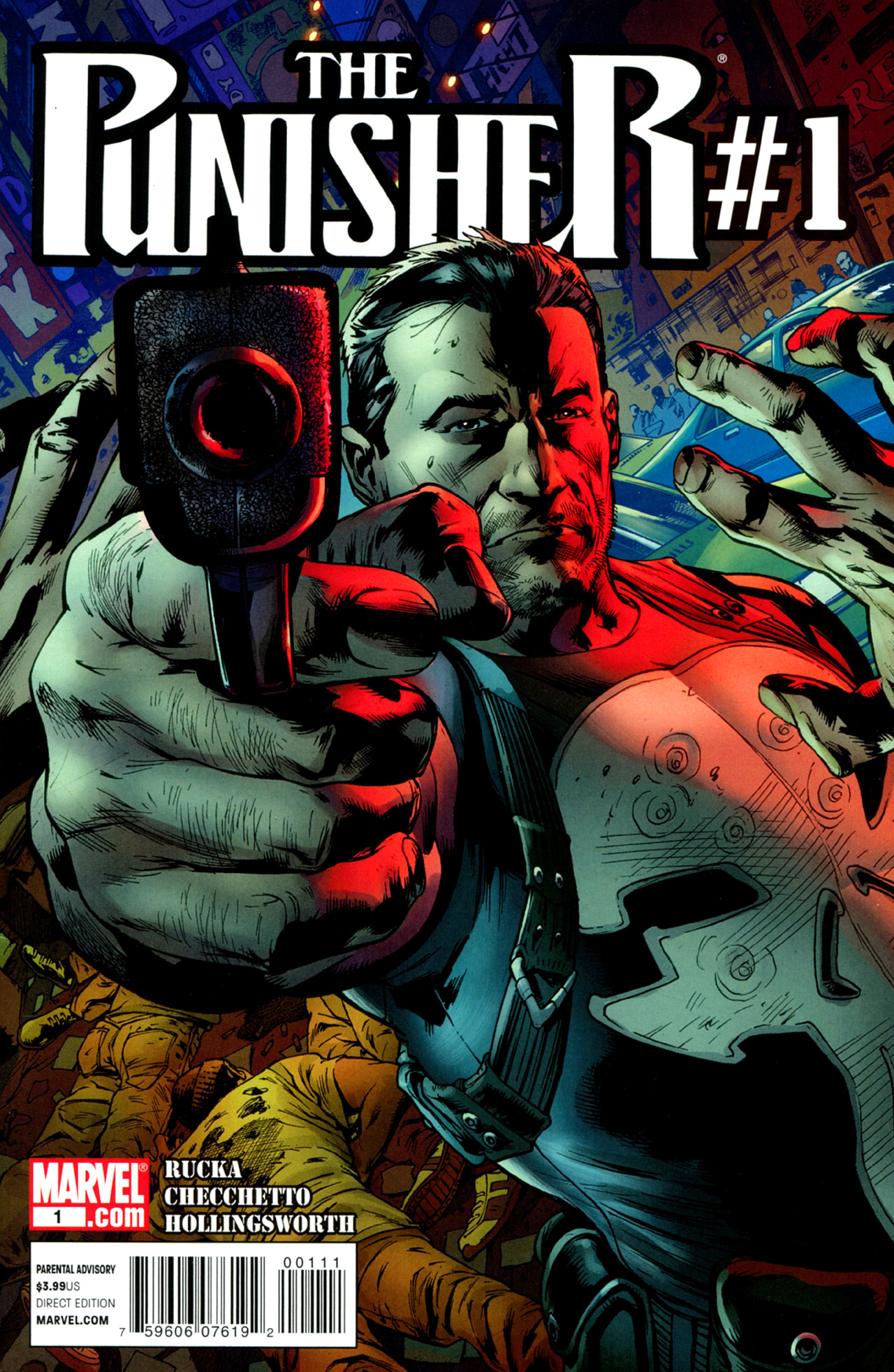 The Punisher (2011) 1 Page 1