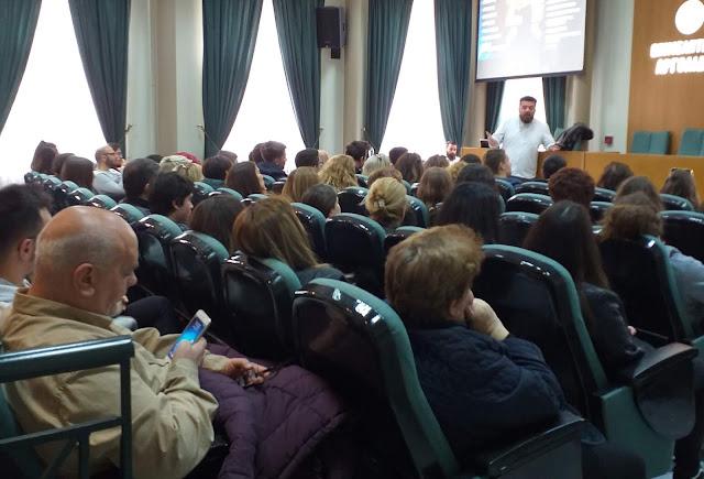 """Με ενδιαφέρον η εκδηλωση για το  """"Νέο σύστημα εισαγωγής σε ΑΕΙ ΤΕΙ - Μηχανογραφικό - Σχολές"""" στο Άργος"""