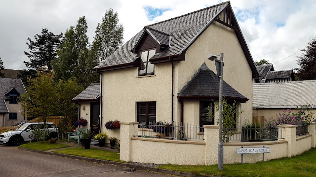 Photo of the house near Fort William in Scotland that we sold to buy our boat