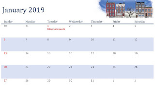 Download Kalender 2019 Free