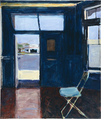 Richard Diebenkorn - Interior with doorway,1962.