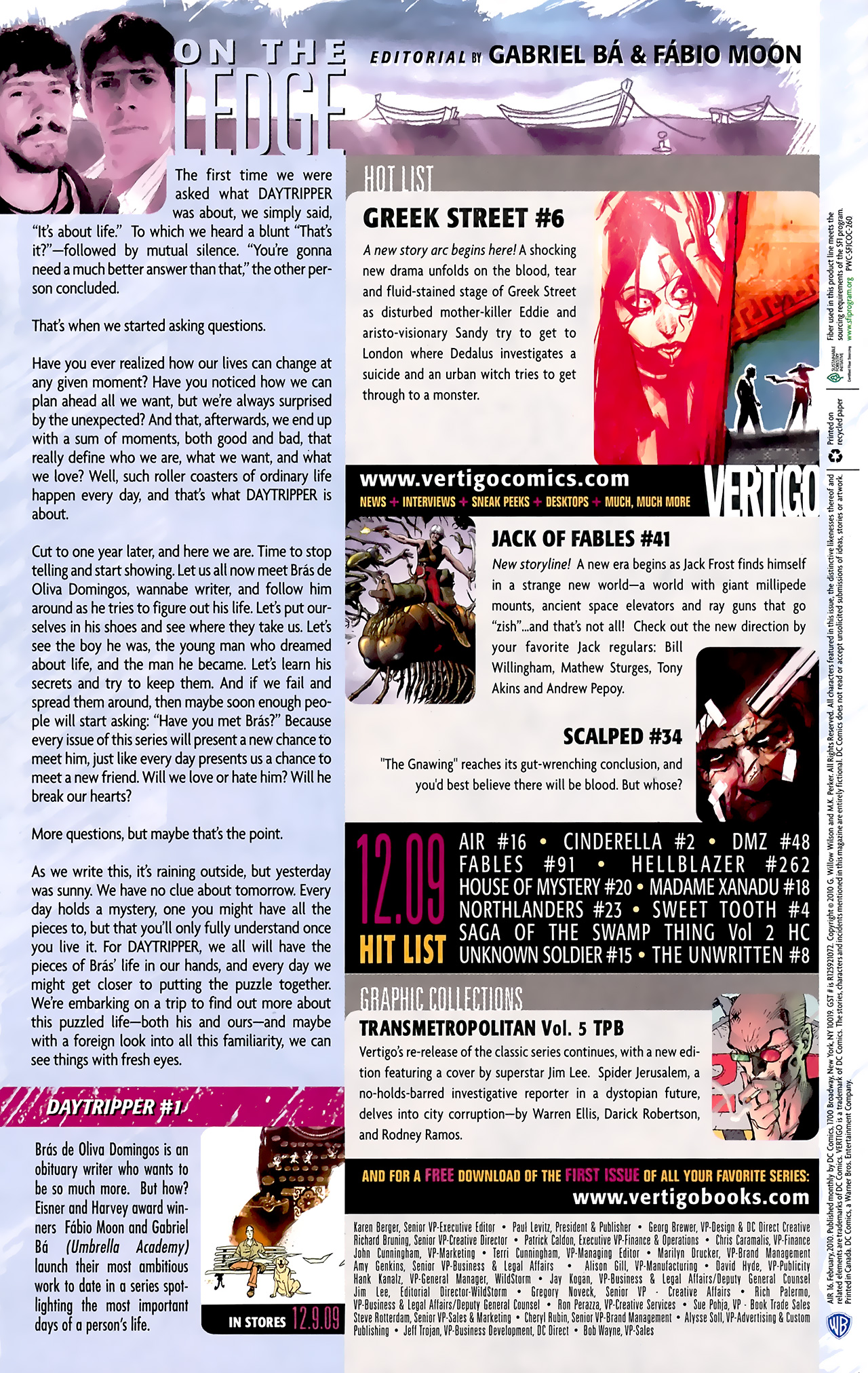Read online Air comic -  Issue #16 - 22