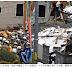 盛岡市:ガス爆発か…住宅が全壊、周辺の19棟にも被害