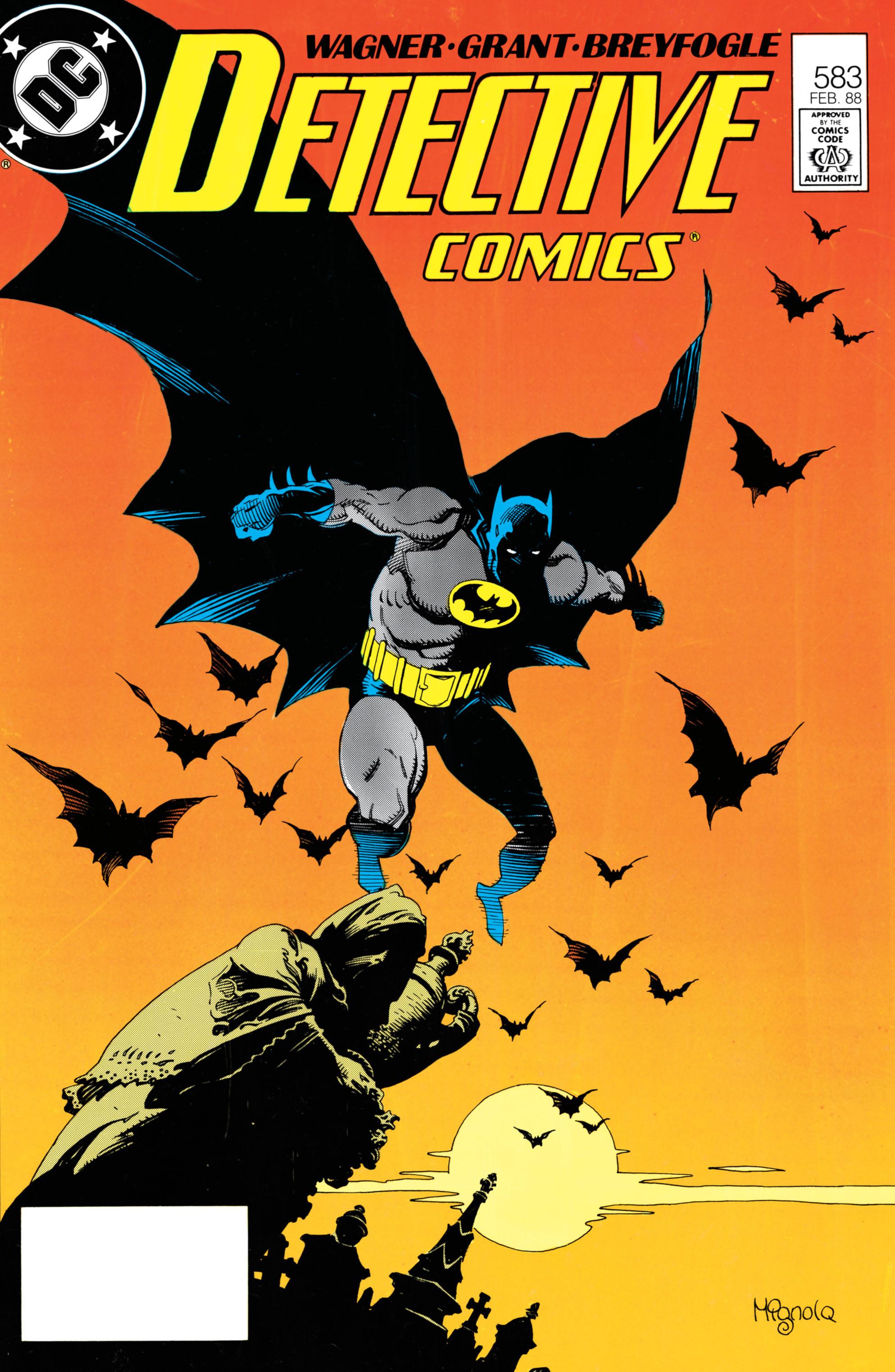 Detective Comics (1937) 583 Page 0