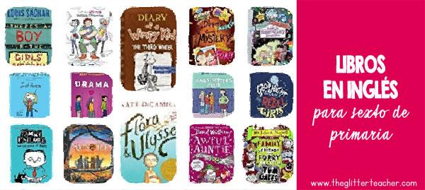 Libros en inglés recomendados para 6º de primaria