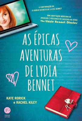 [Pré-venda] As épicas aventuras de Lydia Bennet | Kate e Rachel @editoraverus